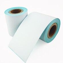 4 рулона/лот POS термоэтикетка бумага 57 50 мм непрерывный рулон этикеток использовать для 58 мм касса принтер машина