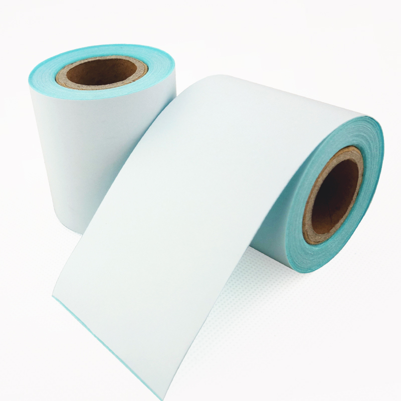 4 Rolls/Lot POS Thermal Label Paper  57 50mm  Continuous Label Roll Use For  58mm Cashier Printer Machine