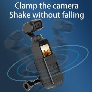 Image 4 - Sırt çantası/Çantası Kelepçe Klip Osmo Cep Gimbal Kamera ile Sabit Adaptör Dağı DJI Osmo Cep Sırt Çantası Tutucu aksesuarları