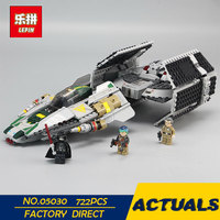 LEPIN 05030 722Pcs Star Series War Vader Set Tie Advanced VS A Toys Wing Star Fighter