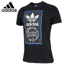 Original New Arrival 2017 Adidas Originals Men's T-shirts short sleeve Sportswear