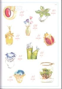 Image 2 - Chiński kolorowy ołówek kryształ biżuteria naszyjnik malarstwo rysunek artystyczny książka
