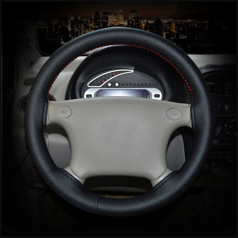 GLCC DIY Bishtalec në timon drejtimi Soft Faux lëkure timoni - Aksesorë të brendshëm të makinave - Foto 6