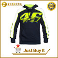 Motorcycle sweatshirt automobile race clothing 46 motorcycle sweatshirt Rossi 100% cotton casual outerwear