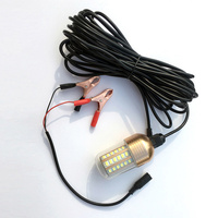 30W Fishing Lure Light LED Submersible Night Fishing Light for Sea Boat &T8