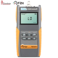 [ Grandway Original ] FHP 2A04 Advanced Optical Power meter ,800~1700nm With Carrying Bag  70~+10dBm,USB port, data storage