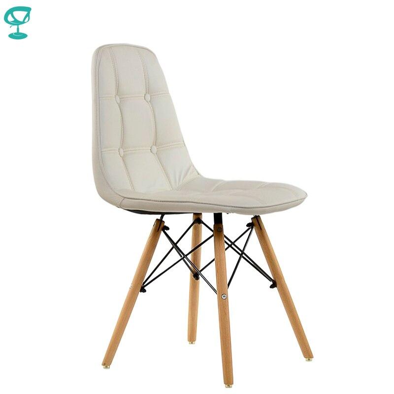 95216 Barneo N-43 eco-skin bois cuisine petit déjeuner intérieur tabouret chaise de Bar meubles de cuisine blanc livraison gratuite en russie
