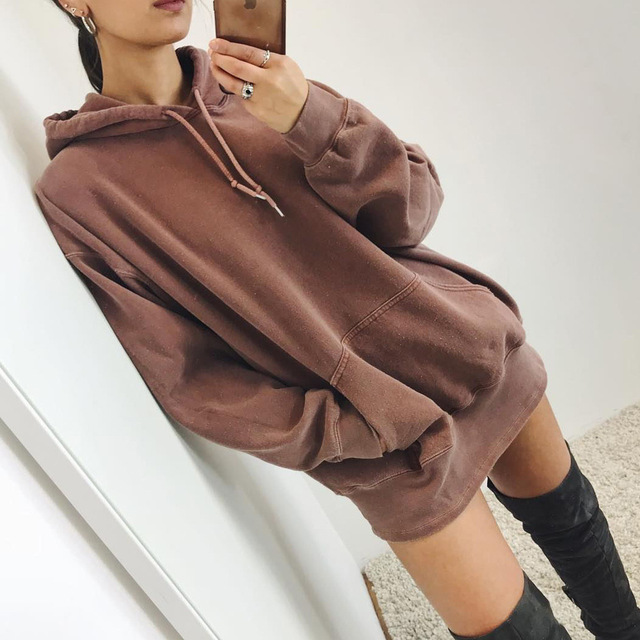 The new hot Europe and the United States hot fashion personality fitness hooded pocket high waist casual sexy female jacket 1