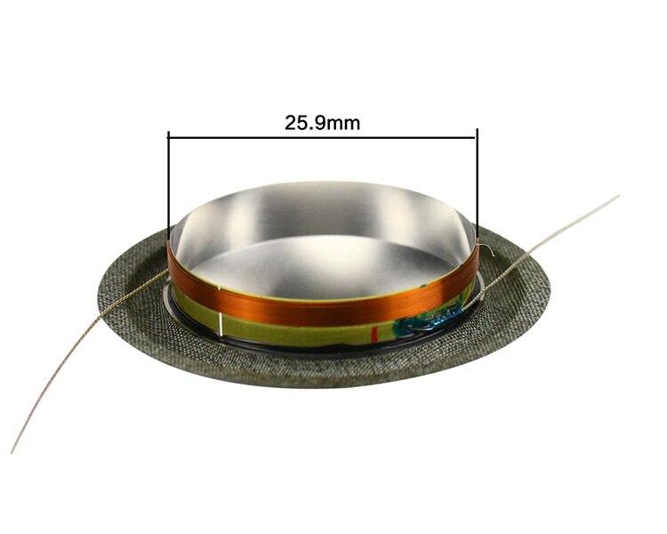 titânio 8ohm alto-falante peças reparo 26 núcleo