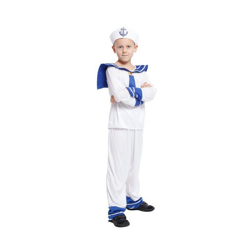 What better way to show your support for the troops than to dress as a sailor for Halloween. For all the men and women who defend our shores aboard massive Naval war ships and aircraft carriers, our line of sailor costumes is dedicated to you. With modern and classic sailor uniforms we have the naval outfit you're looking for.
