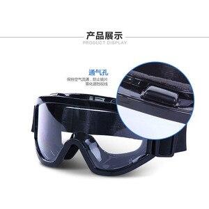 Image 4 - Veiligheid Bril Tactische Bril Hoge Kwaliteit Anti Fog Anti Shock Shockproof en Stof Industriële Arbeid Beschermende Bril