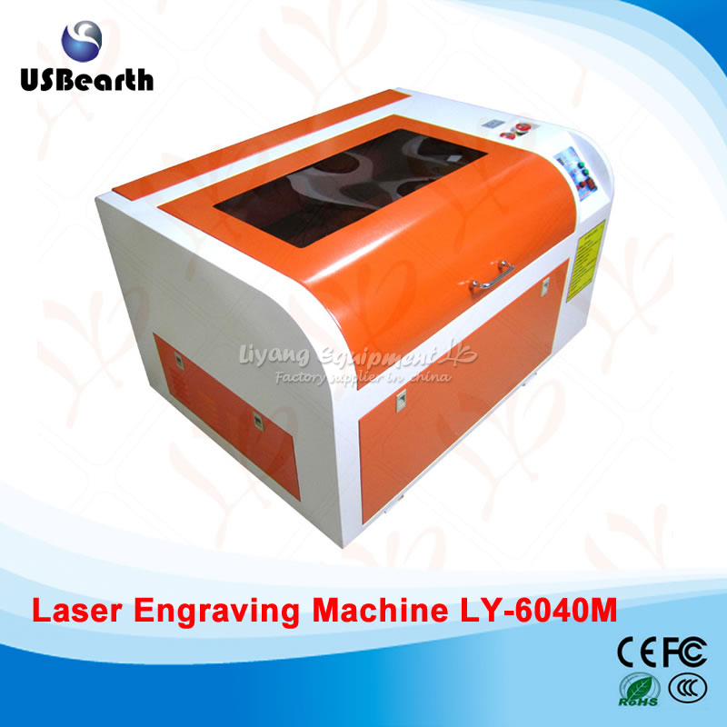LY 6040M CO2 Laser engraving machine 50W laser cutting machine with rotary axis and all functions 6040 cnc laser engraving and cutting machine