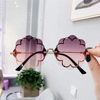 Flower Shape Sunglasses  3