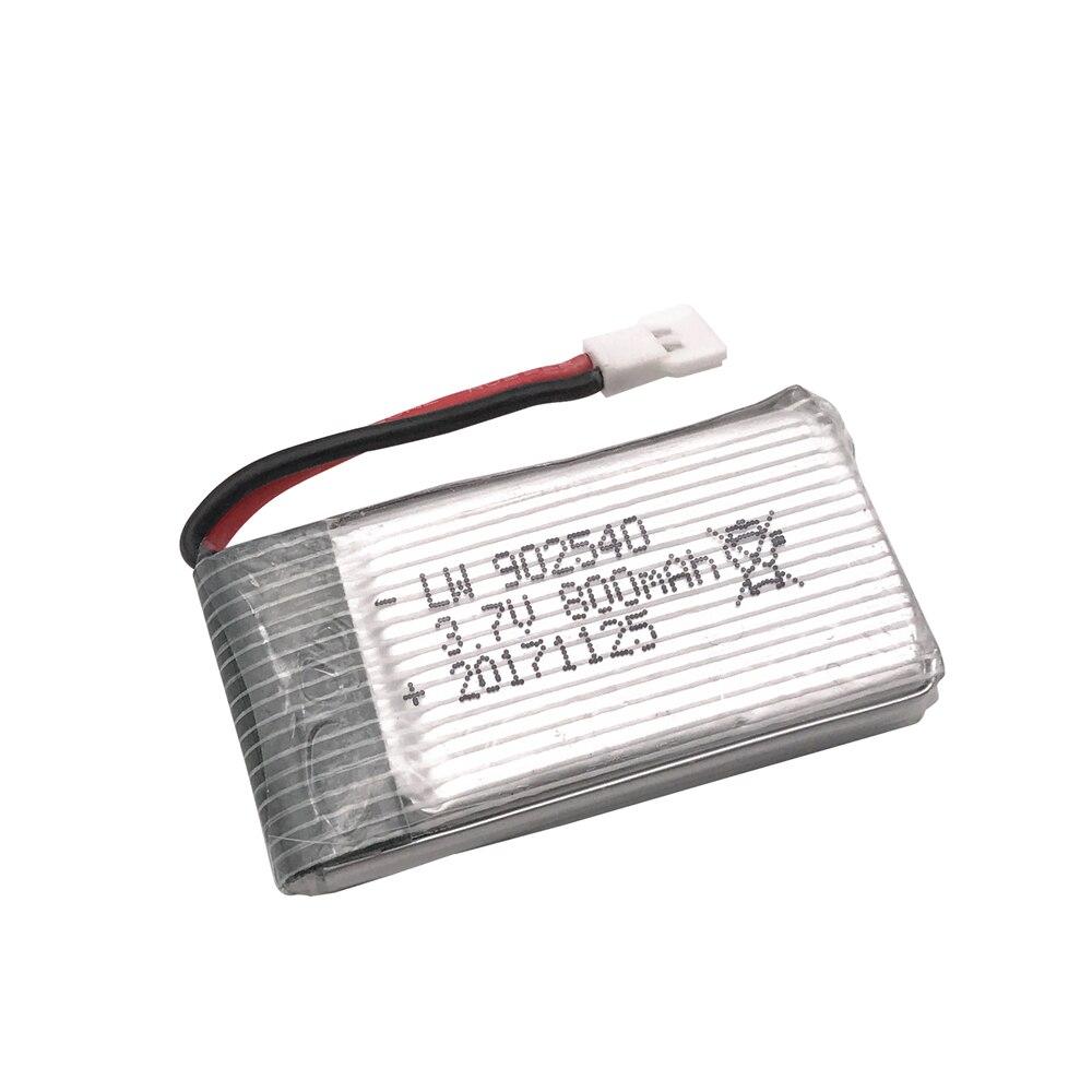 3.7V 800mAh 30C Lipo Battery for Syma X5C X5SC X5SW Top
