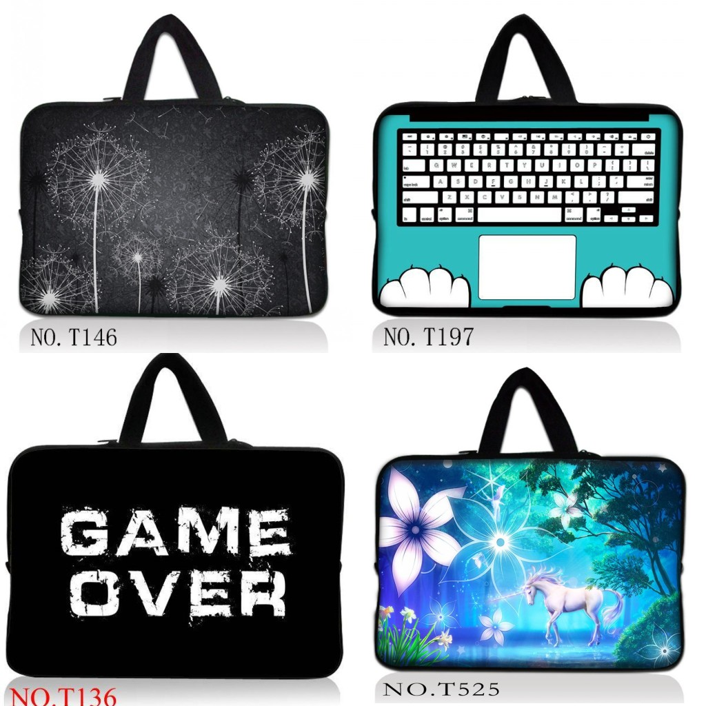 Unicorn 14.4 15.4 15.6 17.3 9.7 10.1 11.6 13 13.3 Dandelion Notebook Sleeve Laptop Bag Case For Macbook Air/Pro/Retina For Asus