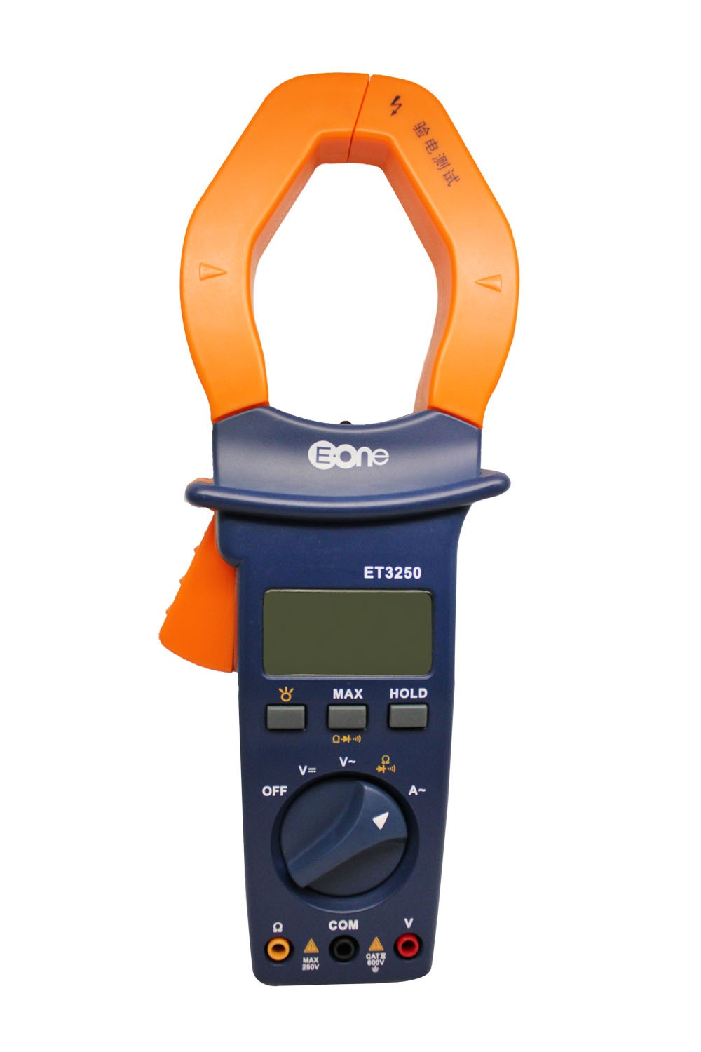 ФОТО ET3250 Digital clamp meter AC ammeter gauge auto range voltmeter with clamp light and backlight