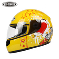 Children's Motorcycle Helmet Unisex Full Face Children Helmets S ABS Security Capacete Moto Impact Children's Motorcycle Helmet
