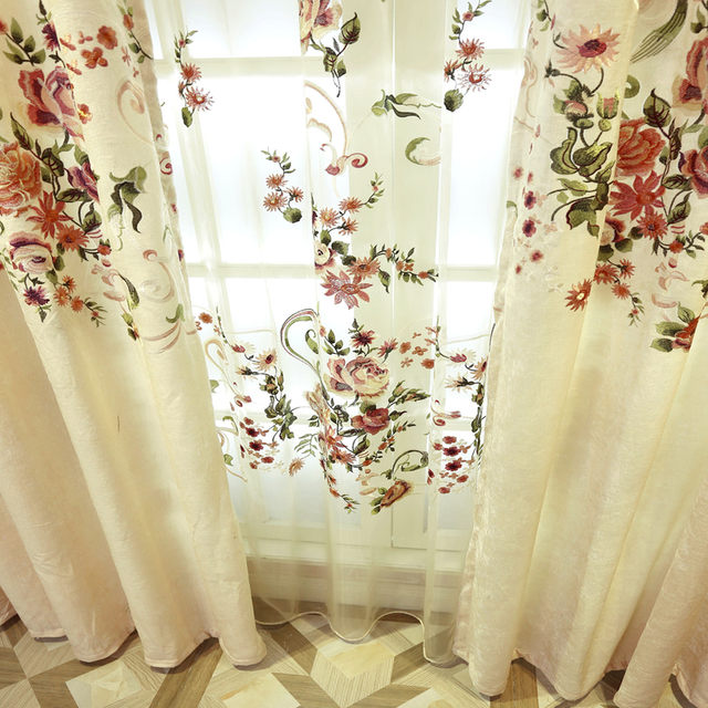 Online Shop 2018 NEW Luxury Curtains for Living Dining Room ...