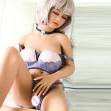 Ailijia無関税 #76 bカップの乳房 140 センチメートルリアルなリアルなセックス人形フルサイズtpeとスケルトン愛人形口腔膣マンコアナル