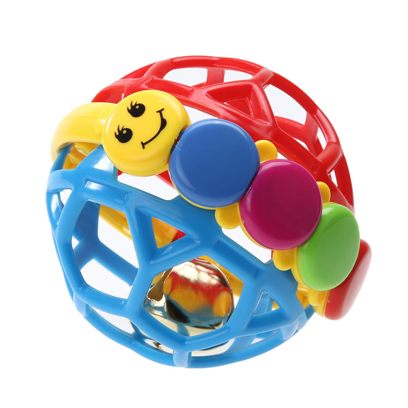 Baby Play Ball Plastic ABS Baby Bendy Ball Toddlers Fun Multicolor Activity Educational Toys Baby Intelligence