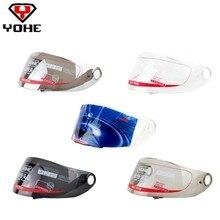 Hot-sale products Yohe 966 helmet lens motorcycle racing Full face helm
