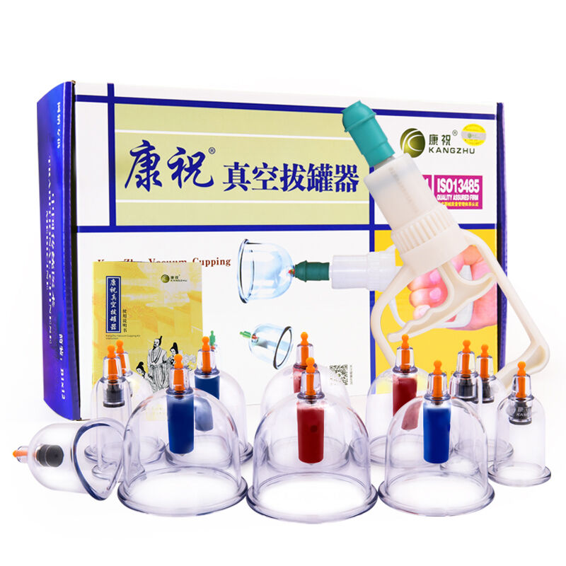 Vacuum Silicone Cupping Therapy Cups Silicone Cupping Therapy Massage Cups Acupuncture Cupping Sets Cupping Set Silicone B12
