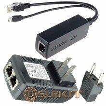 DSLRKIT ラズベリーパイ 3 ボードパワーオーバーイーサネットキット PoE (インジェクタ + スプリッタ) 5 V 2.4A