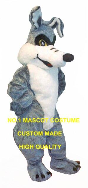 COYOTE mascotte costume en gros à vendre taille adulte dessin animé gris loup thème anime cosplay costumes fursuit carnaval fantaisie 2712
