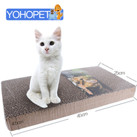 Corrugated Paper Cat Scratching Post Cat Paper Bed House Base Cat Furniture Scratching Post About 45