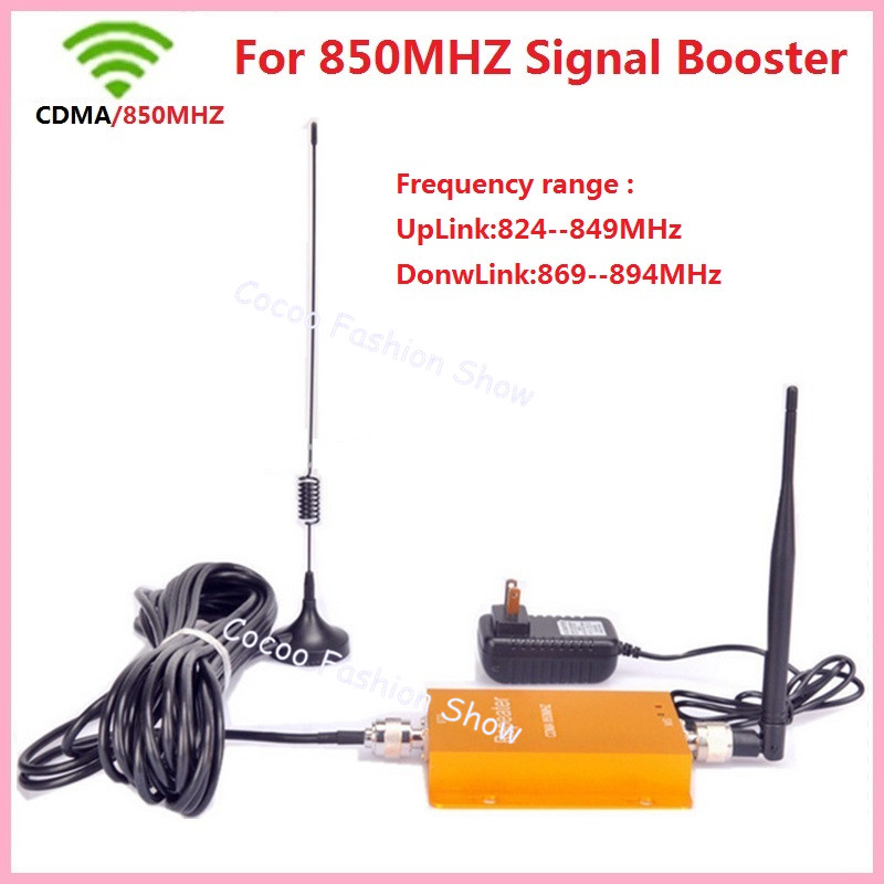 Best price ! 3G 850MHz GSM CDMA Mobile Phone Cell Phone Signal Booster Repeater Gain 60db Cellular Signal Booster With Antenna