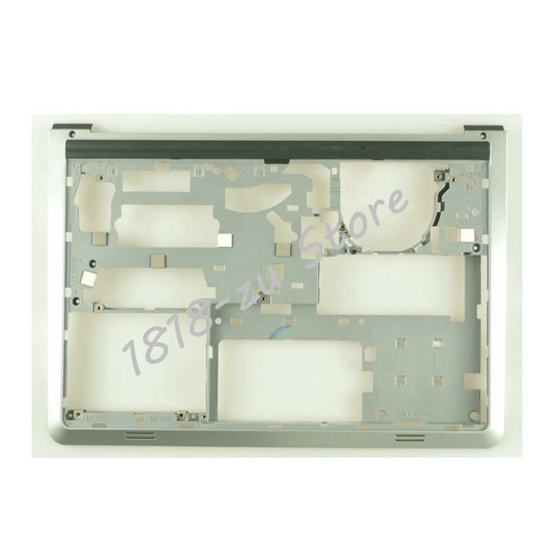YALUZU NEW case For Dell Inspiron 14 5000 5447 5445 5448 5457 5442 5443 P49G Palmrest Upper cover bottom base case LOWER topcase