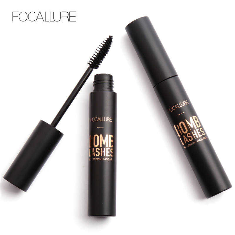 Focallure Impermeabili di Marca di Mascara Volume Express 3D Trucco Con Nero mascara waterproof Colore pincel-maquiagem