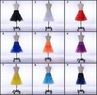 2016 Short Petticoat SoDigne Lady Girls Crinoline Cheap Bridal Petticoat For Wedding Dress Underskirt For Dress