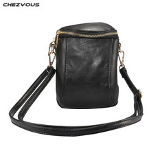 CHEZVOUS Mobile Phone Bag Women Shoulder for Samsung S8 plus S7 S6 edge S5 Note 8 7 PU Leather Case Cross body Wallet Pouch