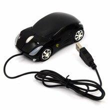 Новое поступление 1800 dpi форма мини-автомобиля USB Оптическая Проводная инновационная 2 фары для настольного компьютера мышь для лэптопа Рекомендуемая мышь
