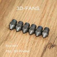 1Pc 3D Printer Reprap MK8 Hardened Steel Nozzle 0.4/0.6/0.8/1.0/1.2/1.5mm for MK8 Hotend kit 1.75mm