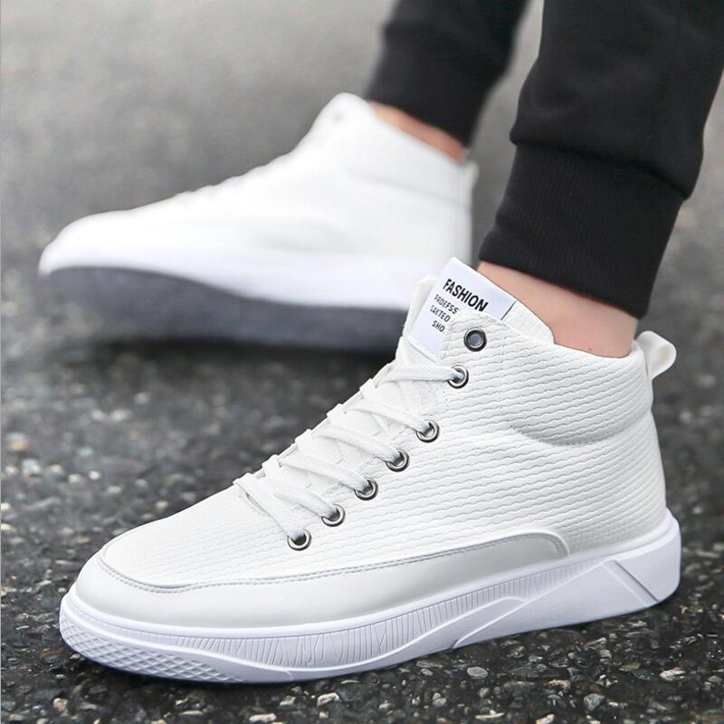 f45ad987cac AIKE Asia high profile leather strap student casual shoes Waterproof  handsome male fashion mens shoes strap Men s leather shoes-in Men s Casual  Shoes from ...