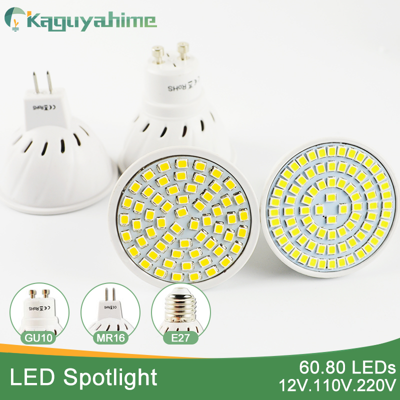Kaguyahime A++Bright MR16 GU10 E27 E14 LED Lamp 5W 6W 8W 110V 12V 220V LED Spotlight Bombillas GU5.3 Spot light Lampada LED Bulb new e27 gu10 rgb led bulb light bombillas 4w 16 color change mr16 e14 led lamp spotlight lampada with remote controller dimmable
