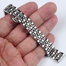 14 мм 16 мм 18 мм 20 мм 22 мм 24 нержавеющая сталь Ремешки для наручных часов для arman i Watch band AR AR1676 AR1682 Мужские Женские часы ремешок браслет