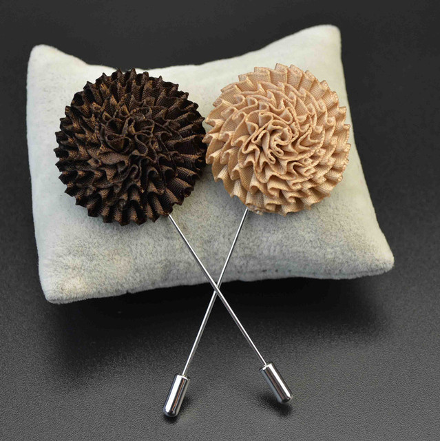 Nuevo estilo hecho a mano Boutonniere stick broche Pasadores para ...