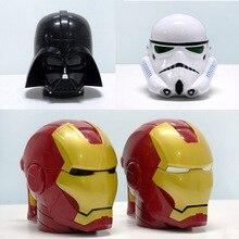Star Wars Becher 3D Schwarze Ritter Weißen Ritter Iron Man Dreidimensionale Kunststoff Tasse Kaffee Tasse