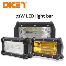 DIC 5inch 72W LED Work Light 3000K 6000K Led Work Lamp Driving Lights Off road 4×4 Floodlight Truck Boat SUV led lights Lamps
