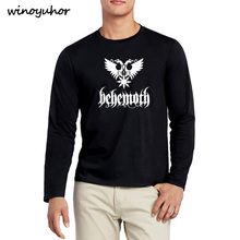 421486c209515 New Hip Hop Death Heavy Metal Punk Band Behemoth Eagle T-shirts Men Casual  Long