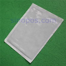 Adhesive Vinyl Pouch, A5 A4 tag PVC envelope self-adhesive sign holder ticket sleeves plastic price card label nameplate pockets(China)