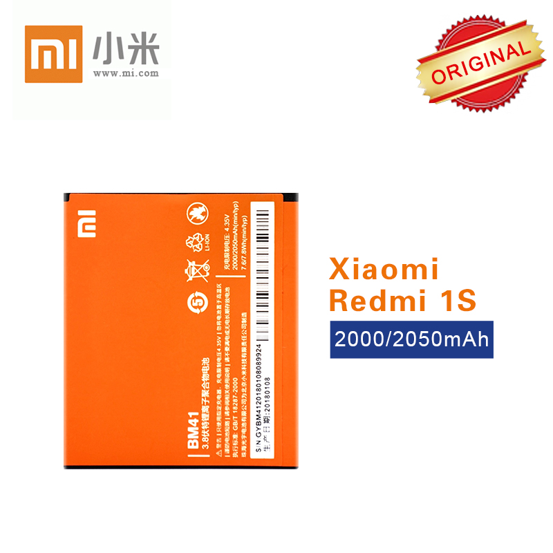 100% <font><b>Original</b></font> <font><b>Battery</b></font> BM41 For <font><b>Xiaomi</b></font> 2A <font><b>Redmi</b></font> Redrice 1 <font><b>1S</b></font> 2 Top Quality Li-ion 2000/2050mAh akku Fast Shipping image