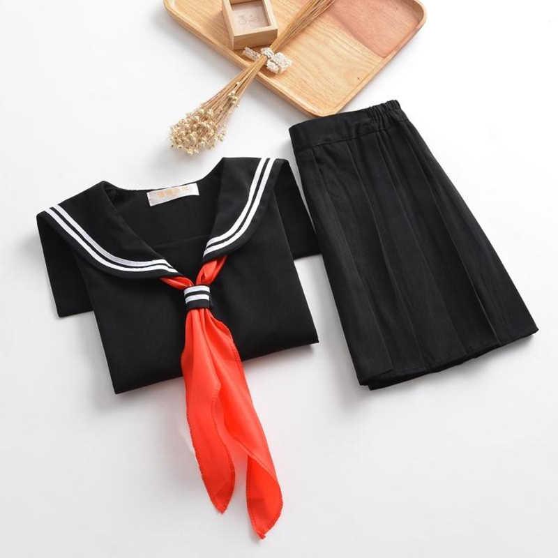 Anime My Hero Học Viện Boku không có Anh Hùng Học Viện Himiko Toga JK Đồng Phục Váy Áo Len Áo Nỉ Cardigan Trang Phục Cosplay Phù Hợp Với
