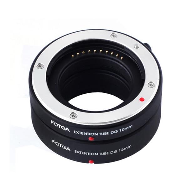 FOTGA Auto Focus AF Macro Extension Tube DG Set 10mm 16mm for Sony E Mount NEX7