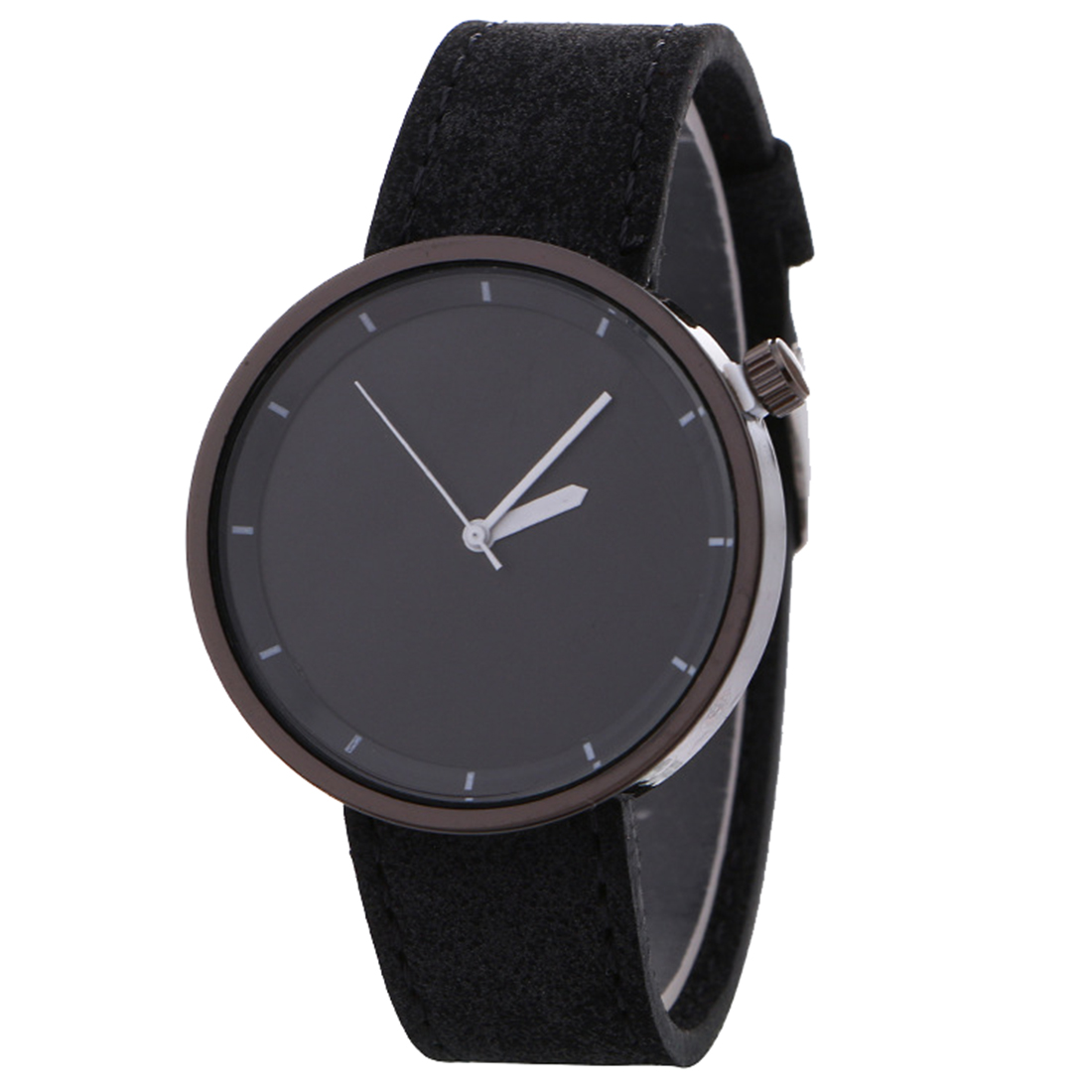 Black Quartz Watches Women Leather Wristwatches Relogio Feminino Matte Simple Clock New Fashion Watch Casual Adjustable Hour New 2017 new fashion tai chi cat watch casual leather women wristwatches quartz watch relogio feminino gift drop shipping