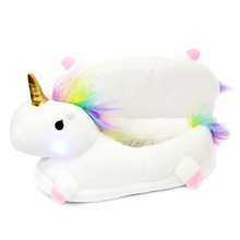 Cute LED unicorn home slippers