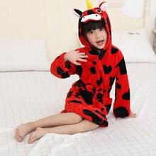 Пижамы для маленьких мальчиков и девочек на осень и зиму, Детские фланелевые пижамы с забавными рисунками животных для детей 6, 8, 10, 12 лет